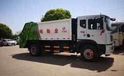 东风12吨压缩式垃圾车简单实用