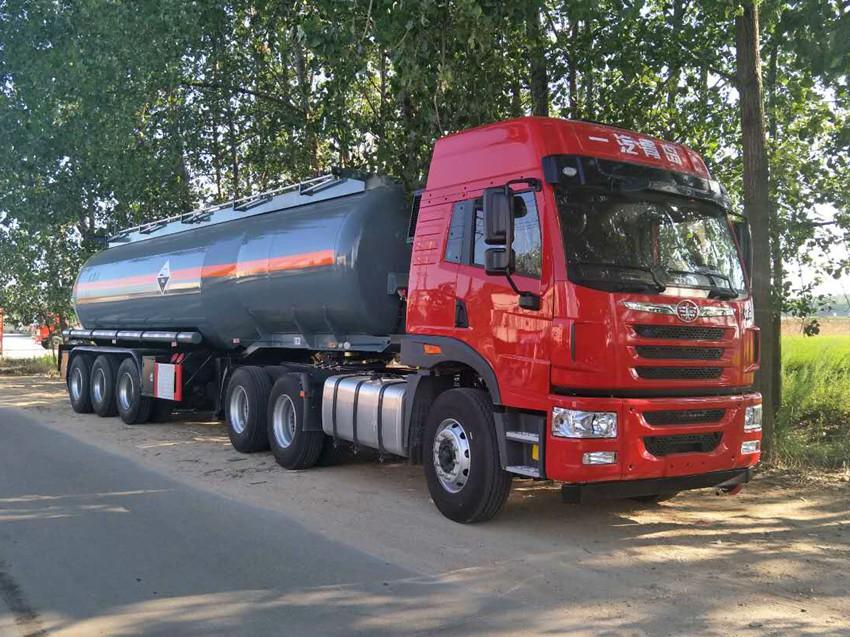 29.5m3鹽酸罐車