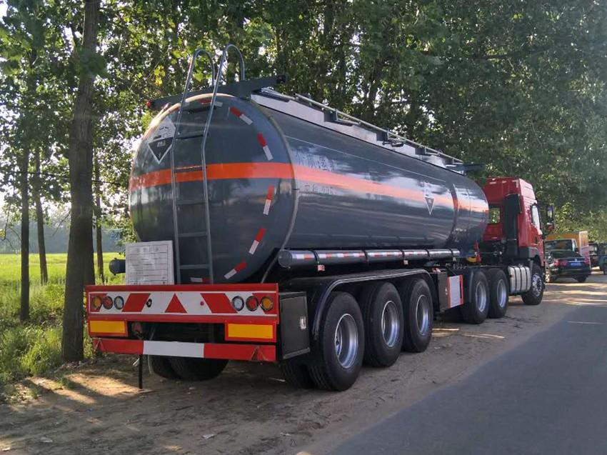 29.5m³盐酸罐车
