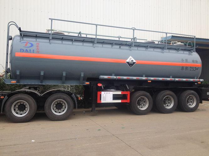 解放25.3m³硫酸运输车