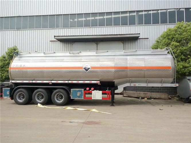 36.9m³不锈钢半挂氨水运输车