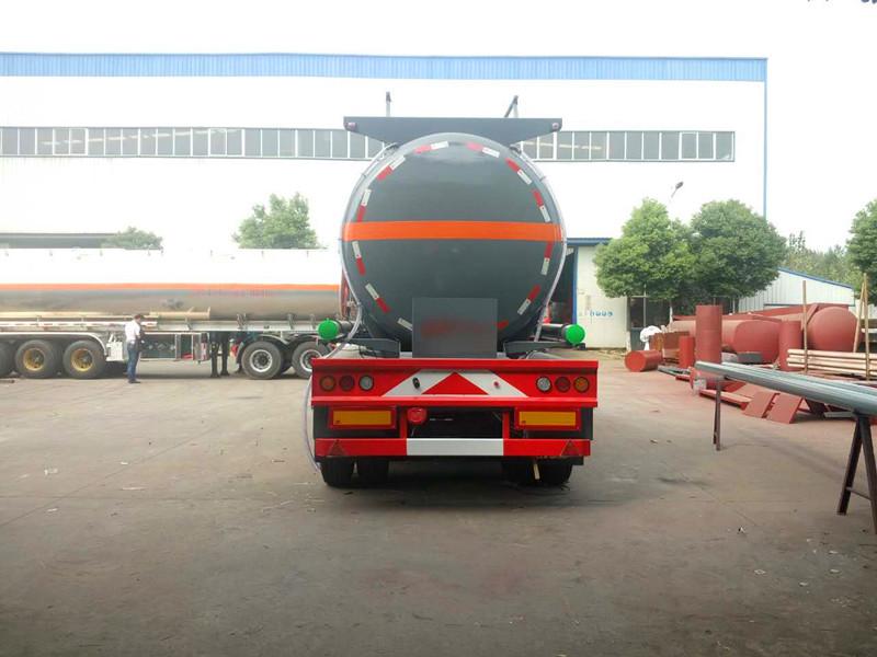 26.25m³半挂液碱运输车/碳钢罐