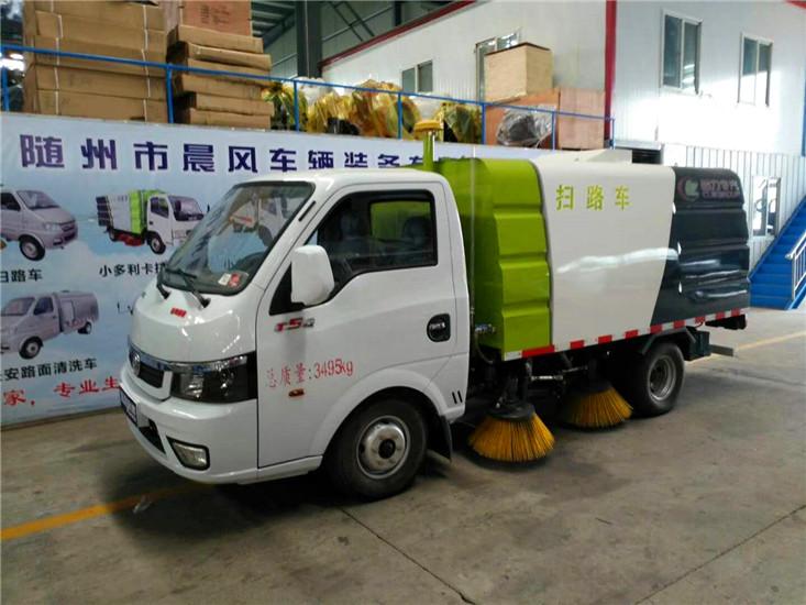 东风多利卡5吨扫路车 (9)