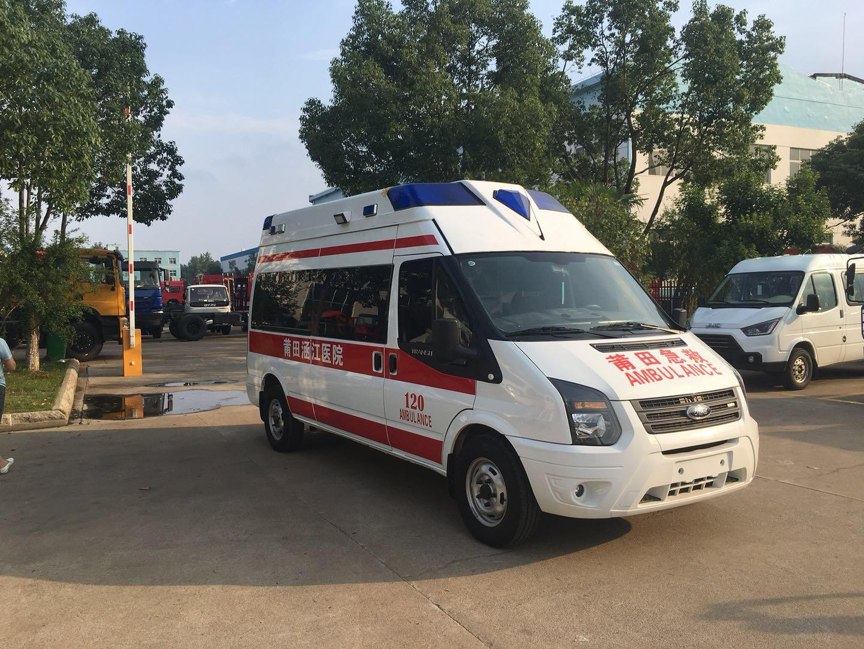 福特新世代V348长轴救护车