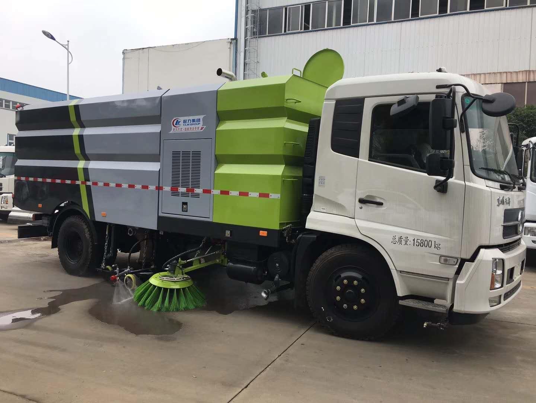 中联洗扫车和程力洗扫车质量