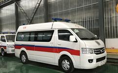 福田G7救护车,福田蓝牌救护车厂家
