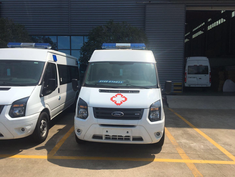 福特新世代V348短轴救护车