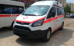 四川福特V362短轴救护车厂家价格