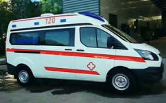 云南福特V362中轴救护厂家价格
