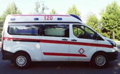 贵州福特V362短轴救护车厂家限时优惠1万元