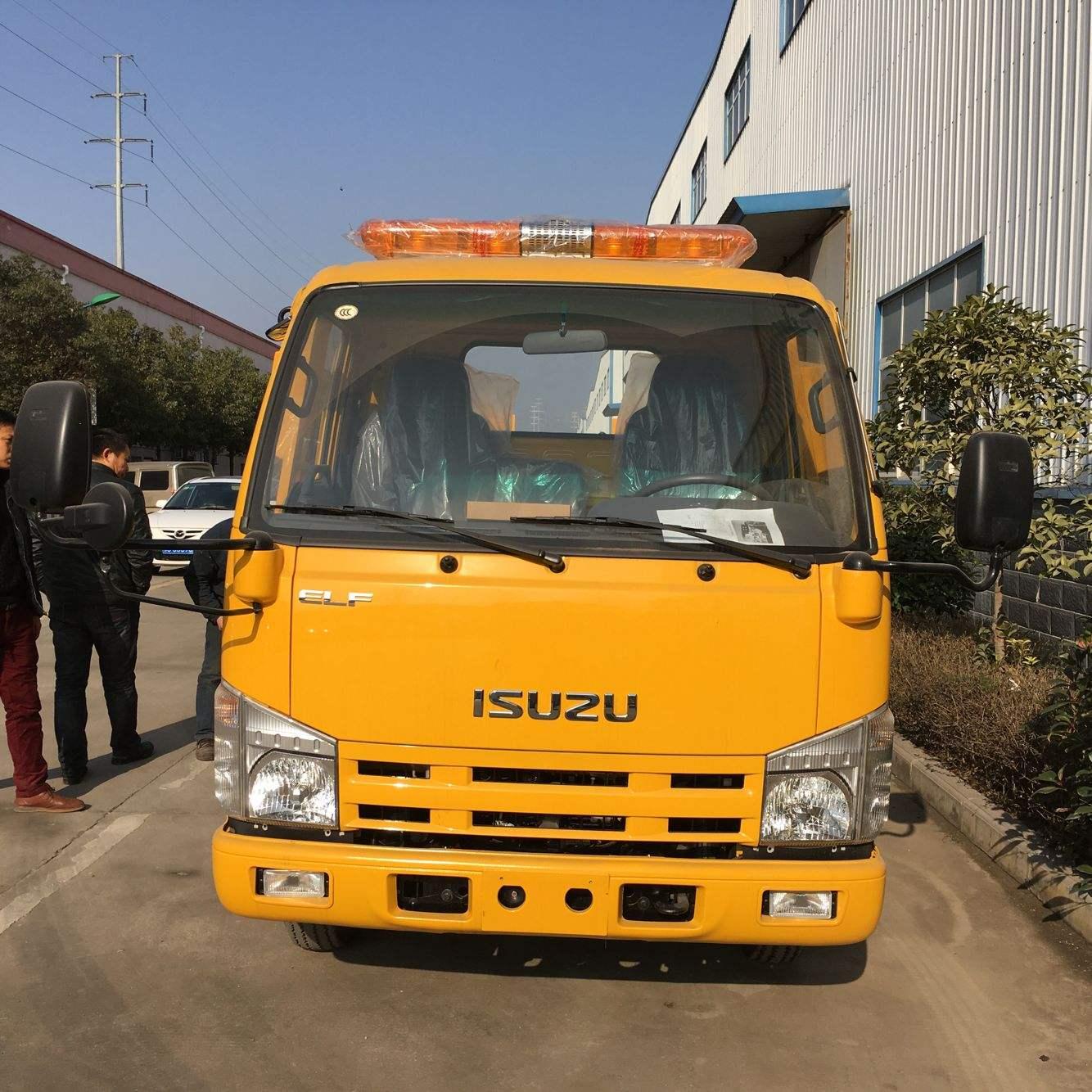 辽宁大连5吨庆铃五十铃清障车(拖车)价格和厂家和图片