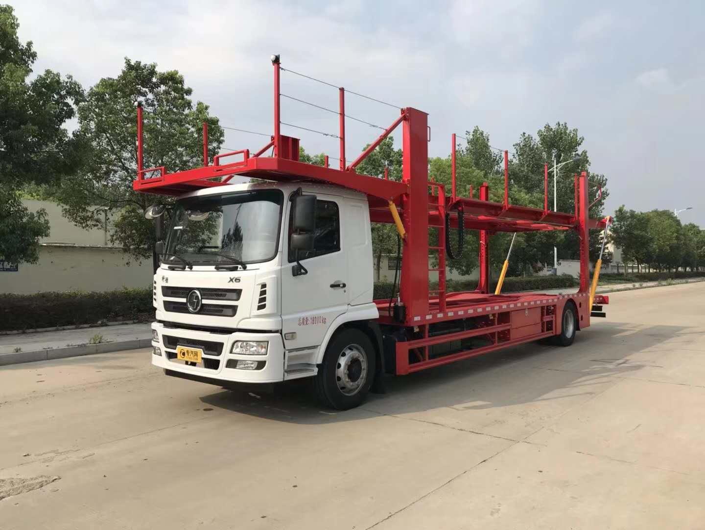 陕汽4x2车辆运输车 轿运车 中置轴轿运车图片