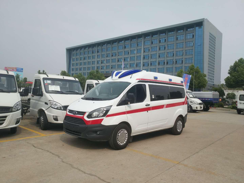 福特新全順V362中軸中頂運輸型柴油版救護車