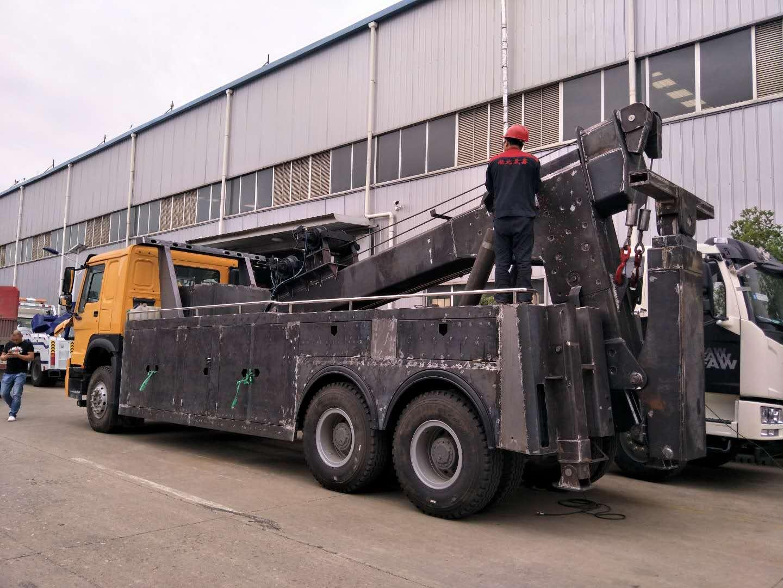 20吨后八轮重型清障车