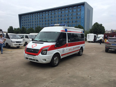 新世代V348長軸中頂監護型救護車發往正安縣婦幼保健院