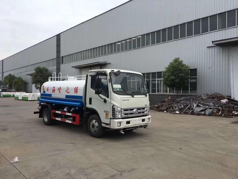 國五福田時代5噸灑水車圖片