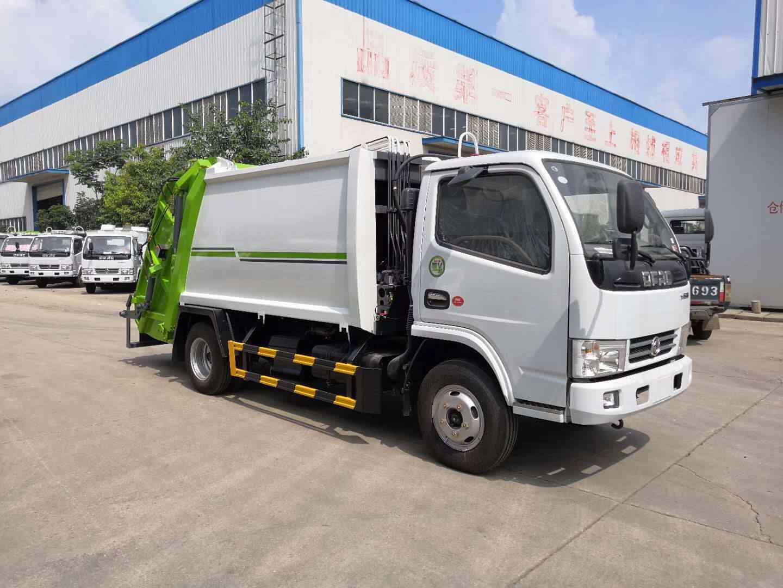 东风小多利卡5方 3吨 压缩式垃圾车图片