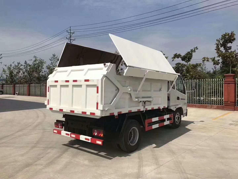 凯马5方压缩式对接垃圾车图片