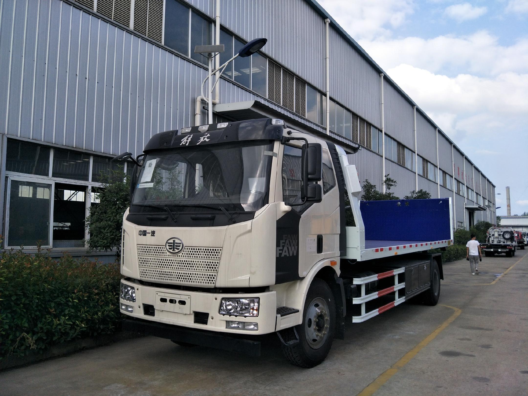 10吨解放平板道路清障车价格_厂家_配置和报价......