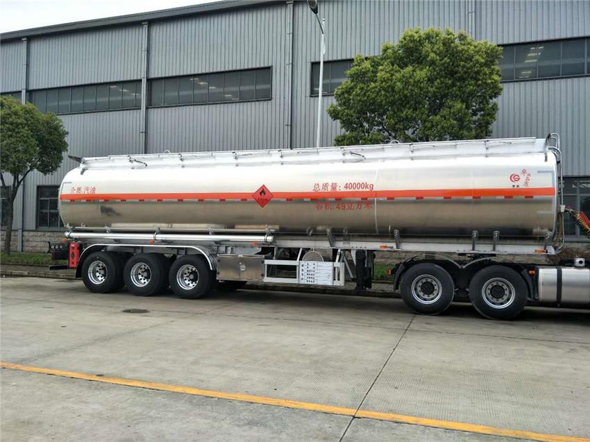 40噸鋁合金半挂油罐車