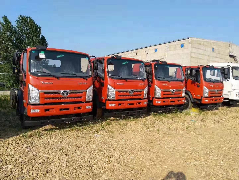 平板运输车可拉5-15吨挖机玉柴140马力整车优惠促销价13万