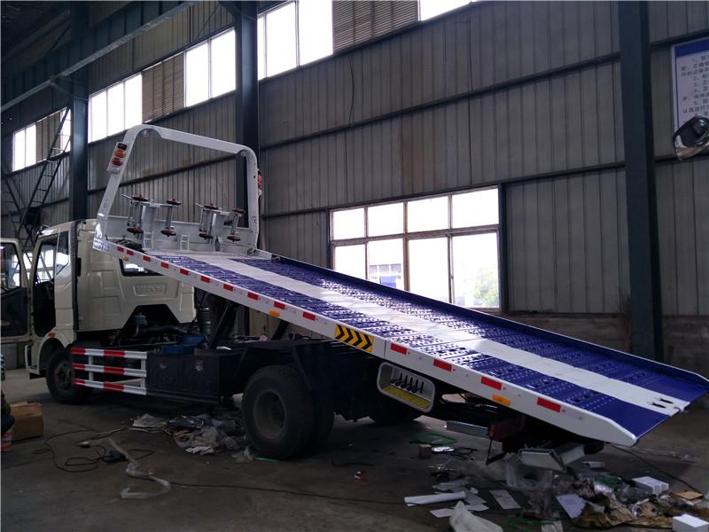 中国一汽解放平板清障车