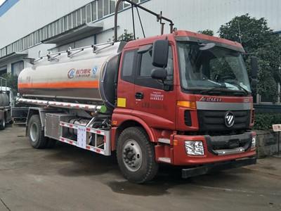 福田欧曼13吨铝合金加油车
