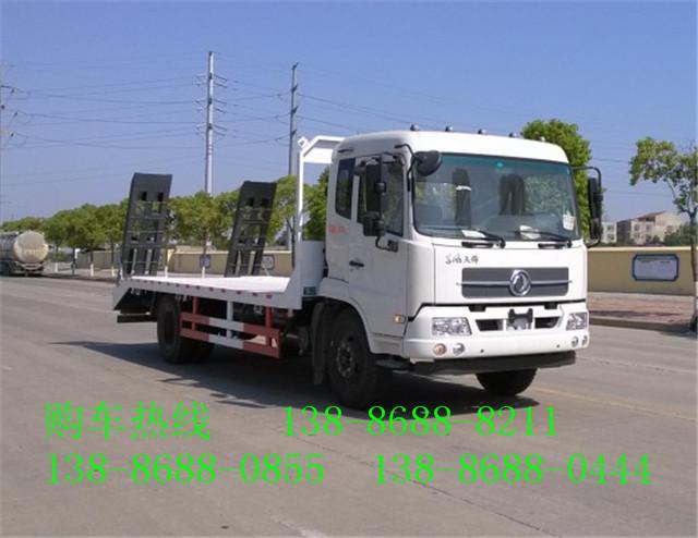 东风天锦国五新款平板运输车