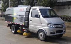 长安3吨小型扫路车柴油