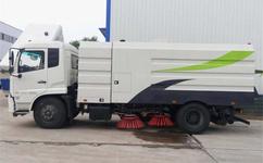 东风扫路车 12吨扫路车 大型道路清扫车价格厂家直降2万元!