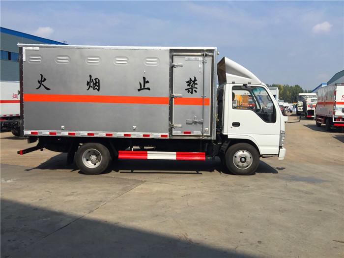 国五4米1五十铃1.4吨民爆运输车图片