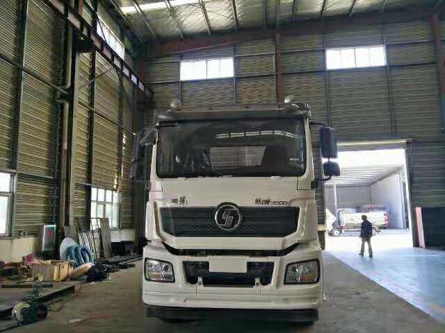16吨陕汽德龙重型清障车