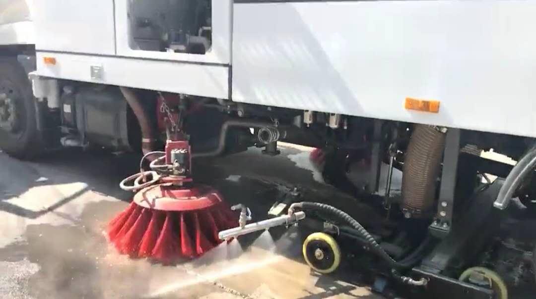洗掃車寬度3.7m視頻
