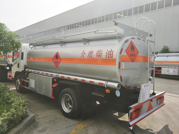 解放8.72方油罐車 小型流動加油車現車直銷_高清圖片