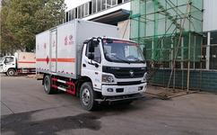 农药专用厢式运输车生产厂家