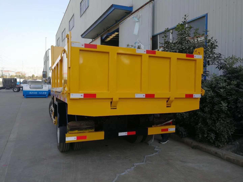 东风小多利卡双排座自卸式垃圾车图片
