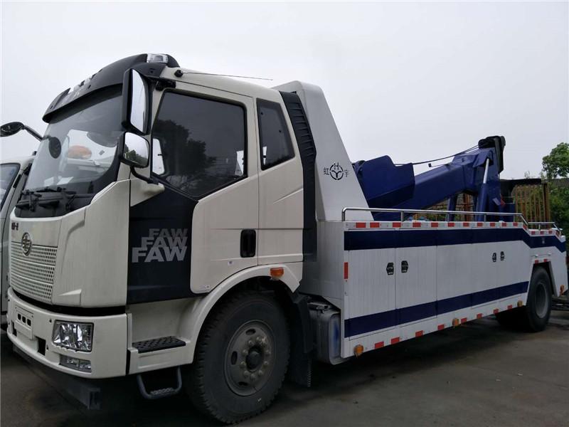 12吨解放救援拖车价格