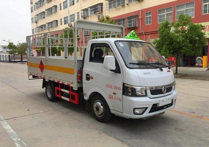 3.18米东风途逸1.485吨气瓶运输车图片