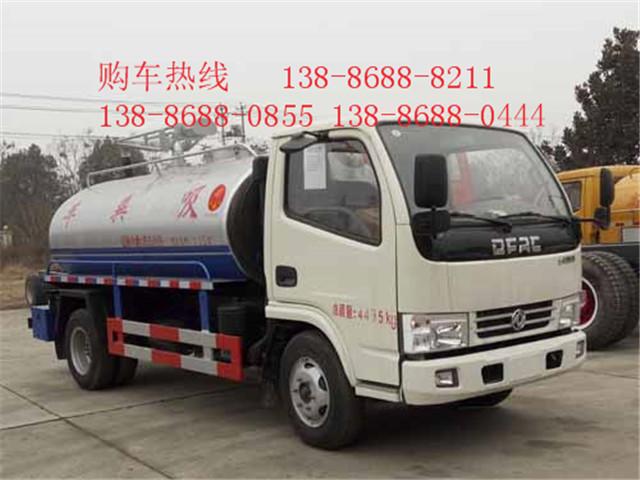 新款国五东风SZD5070GXE5吸粪车