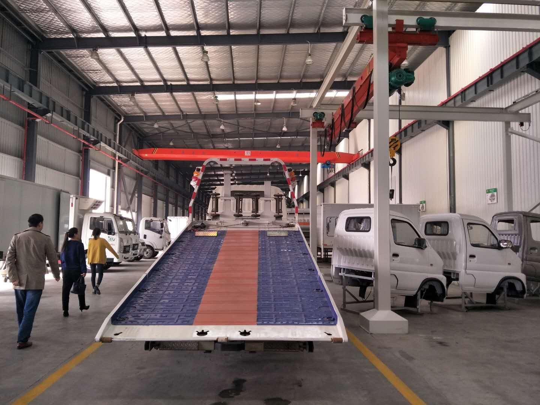 新能源电动清障车图片