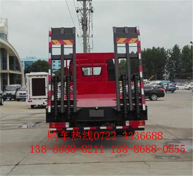 解放J6单桥平板运输车