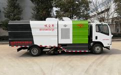 湖北宏宇五十鈴吸塵車煤場清掃利器讓廠區不在灰塵漫天!