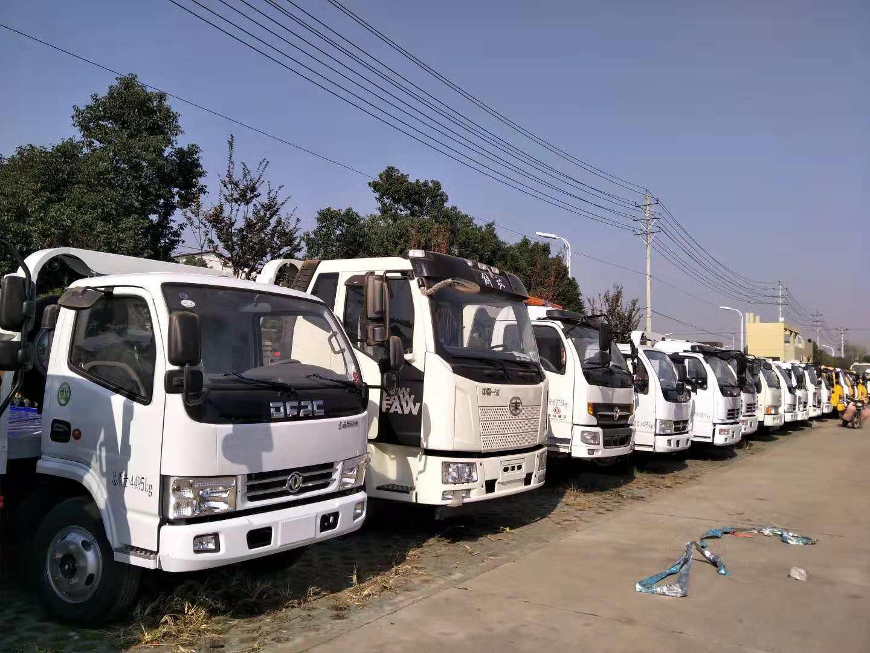 甘肃酒泉解放清障车厂家价格配置参数吨位和保养