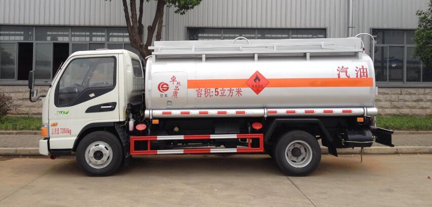 江淮5方(實際6方)汽油加油車