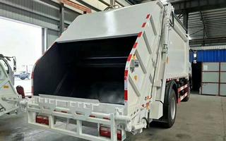5吨压缩垃圾车厂家图片