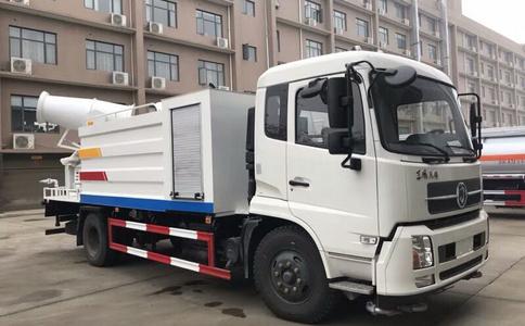 10吨东风天锦雾炮车,80米射程