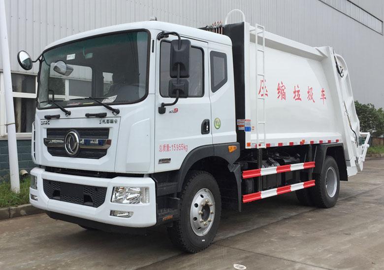 10-12方壓縮垃圾車(東風D9)