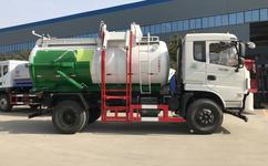 干湿分离式潲水垃圾车