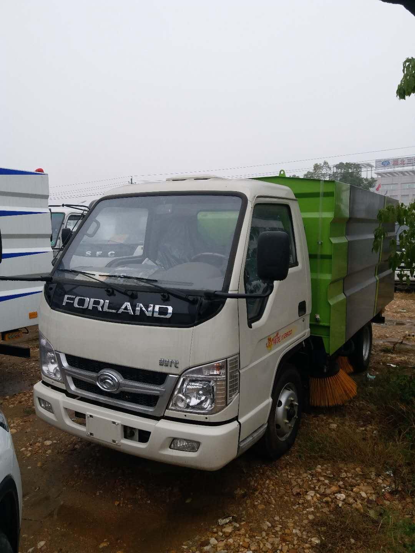 福田不上户小型扫路车可装多少吨