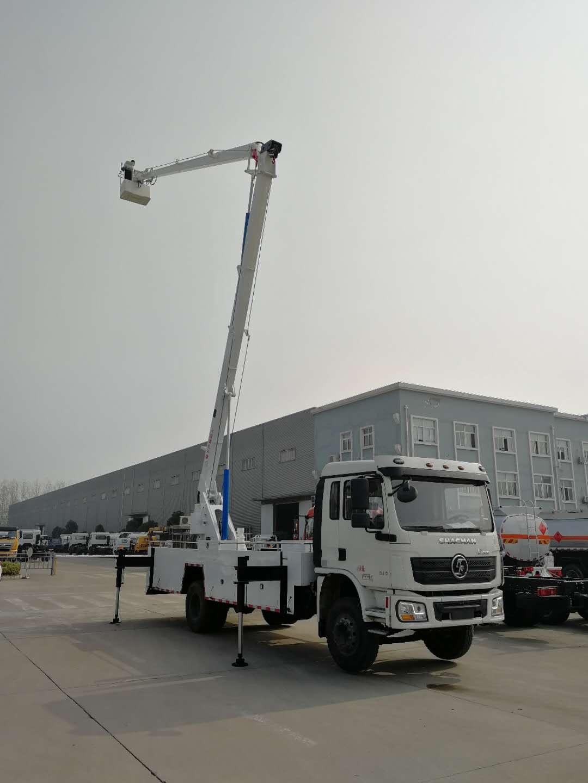 陕汽22米高空作业车图片